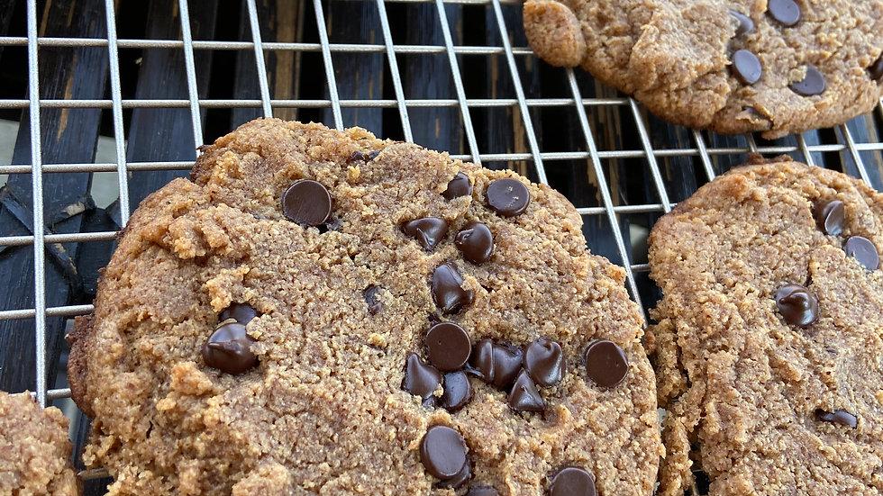 Vegan Keto Chocolate Chip cookie (half a dozen)
