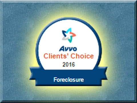 AVVO - Foreclosure - Award