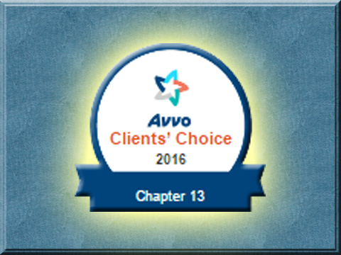 AVVO - Chapter 13 - Client's Choice