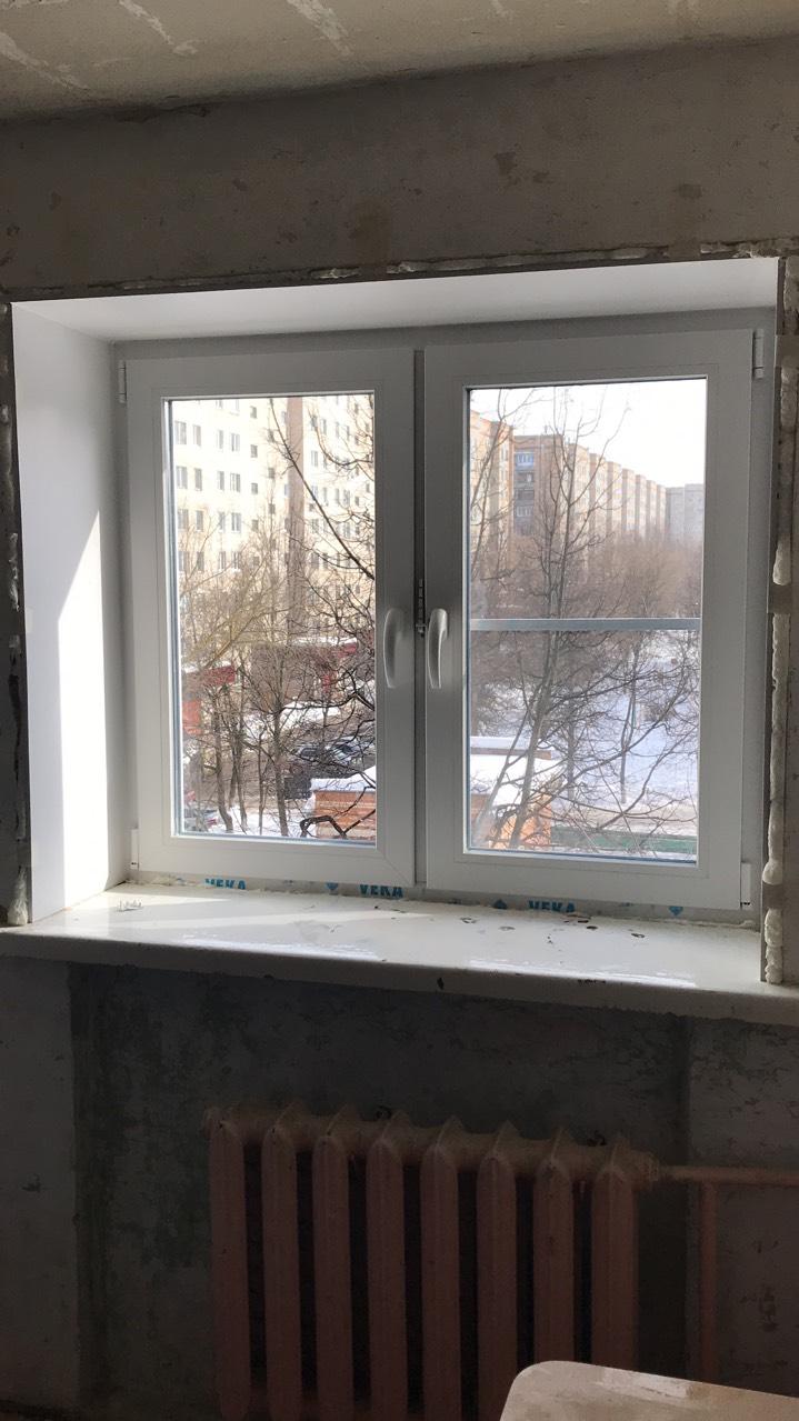 Бюджетное пластиковое окно Серпухов