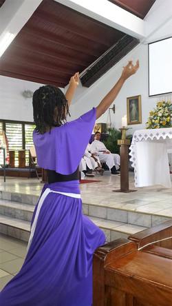 Dramatization in Mass