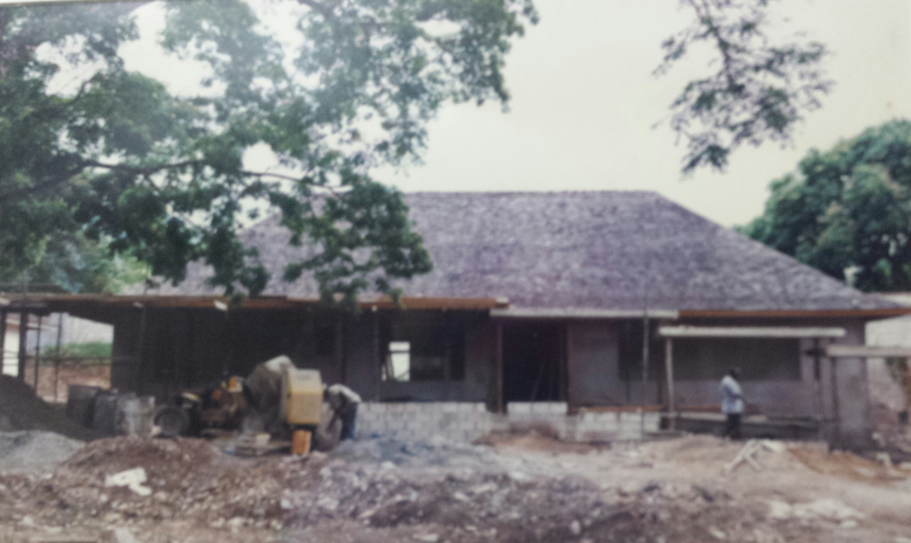 Pastoral Centre under construction
