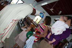 After Mass meet and greet