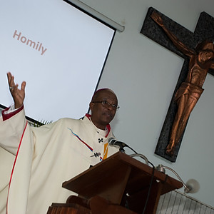 Mass with Archbishop Kenneth
