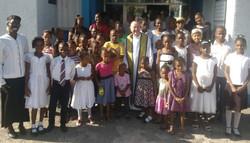 Fr. Pat at the Foundation
