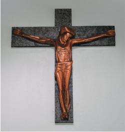 Crucifix above the Altar