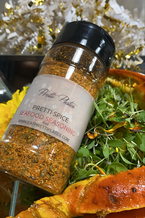 Pretti Spice Seafood Seasoning