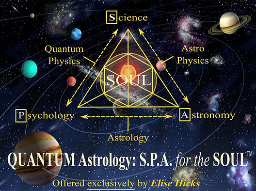Quantum Astrology S.P.A. for the SOUL design created by William R. Hicks