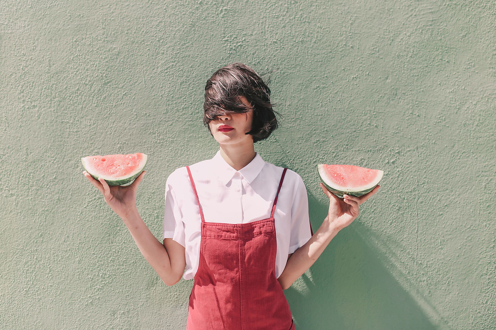 Watermelon as an ingredient from waterlily facial