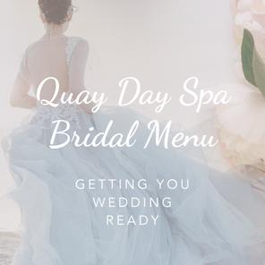 New Bridal Menu Launch