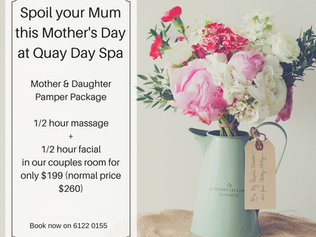 Enter the Quay Day Spa - Napoleon Perdis - Mother's Day Competition