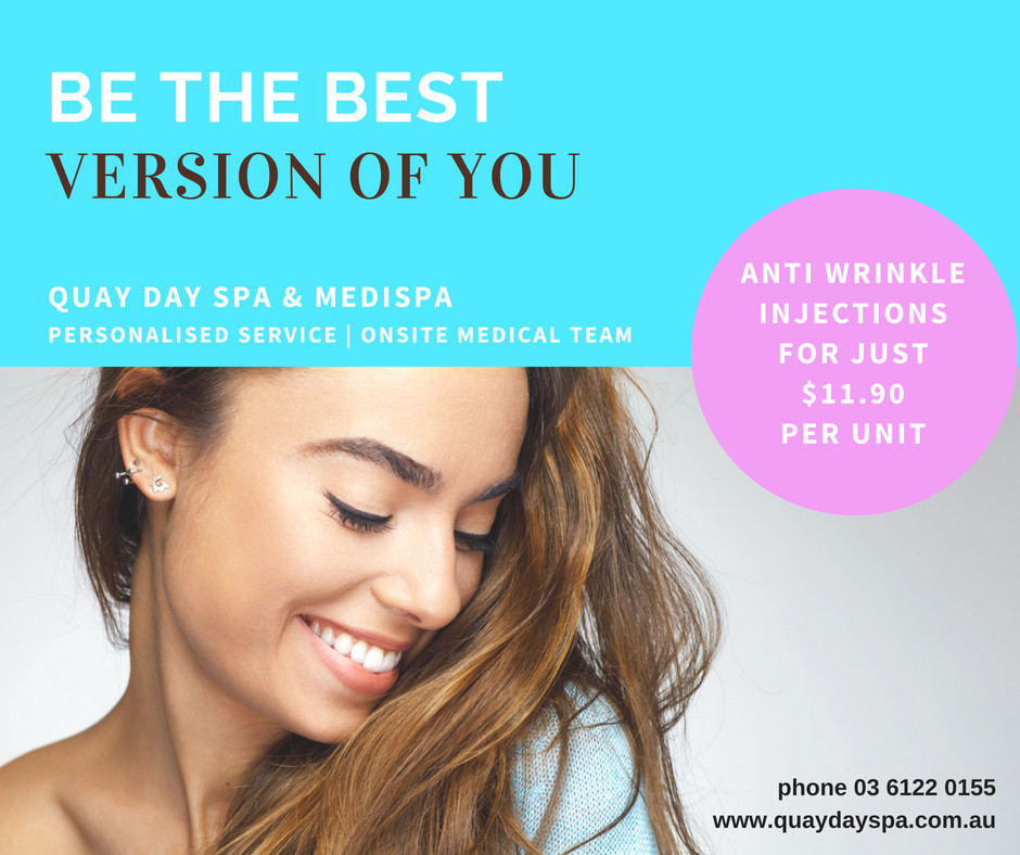 Anti Wrinkle Injectables at Quay Day Spa