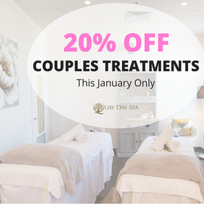 20% OFF COUPLES TREATMENT THIS JANUARY