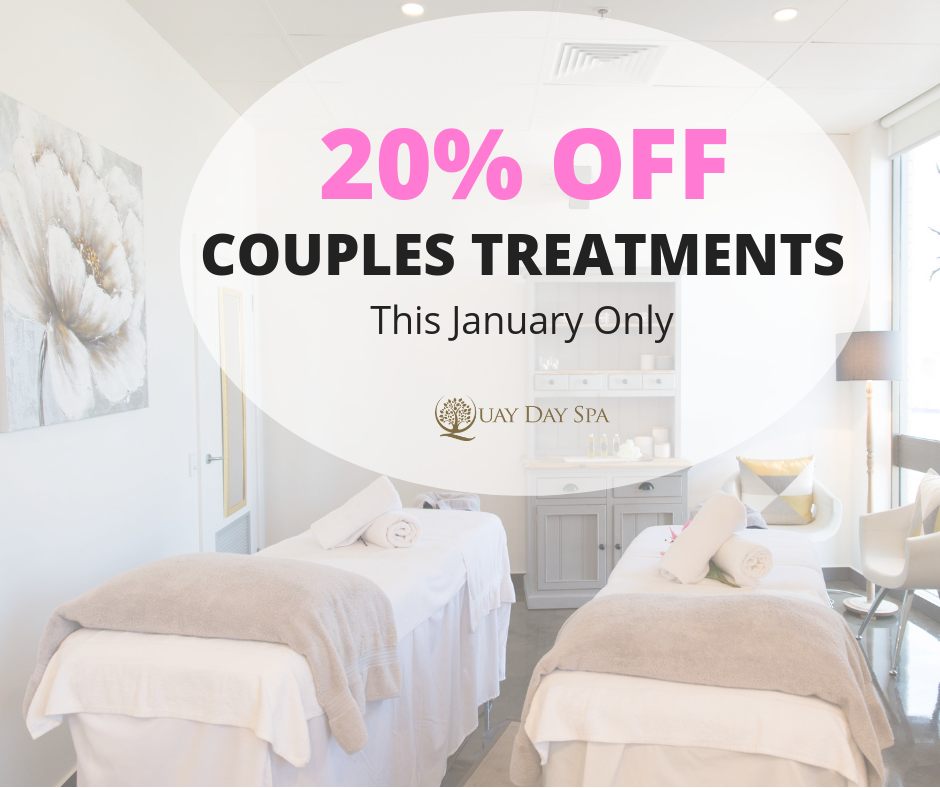 20% OFF Couples Treatments poster