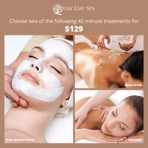 March 2019 Offer: Two x 45 minute Treatments for $129