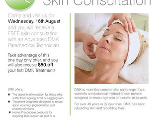 DMK Skin Consultation Day