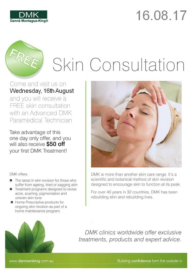DMK Skin Consultation Day