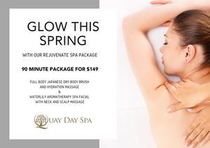 Quay Day Spa October 2019 Offer