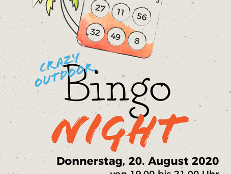 Gatsby presents: Crazy outdoor Bingo Night