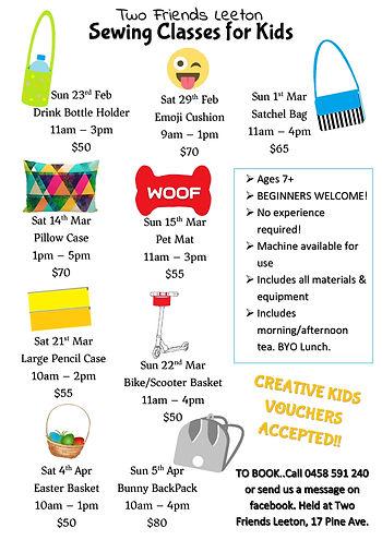 Leeton Weekend Sewing Classes term 1 202
