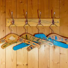 Hand painted hangars