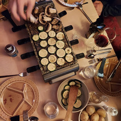 Vegan Raclette - modern meets traditional and homemade meets commercial