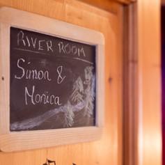 River Room bedroom door