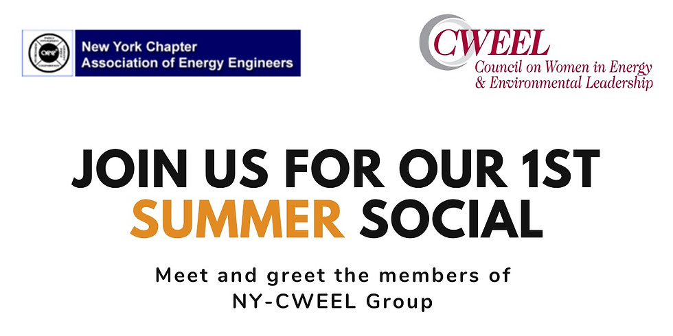 NY-CWEEL Summer Social