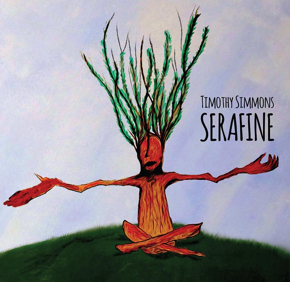 Serafine CD album cover.