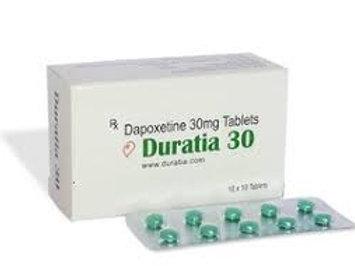 Duratia 30mg (Dapoxetin) - 50 tablets