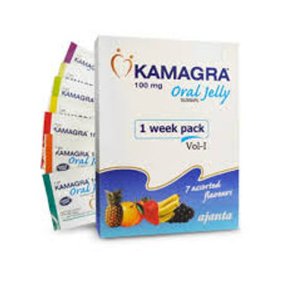 Kamagra oral Jelly - 4 packs(28 units)