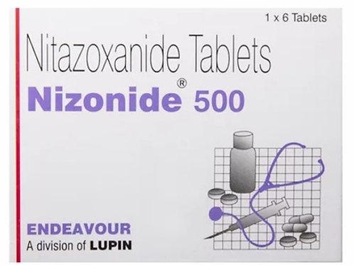 Nitazoxide- Nizonide (100 tablets)