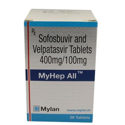 Myhep ALL- Sofosbuvir & velpatasvir 400mg/100mg