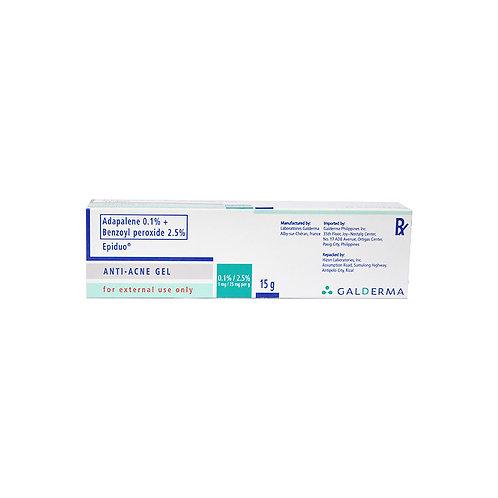 Adapalene/Benzoyl peroxide 0.1, 2.5 gel (15g)