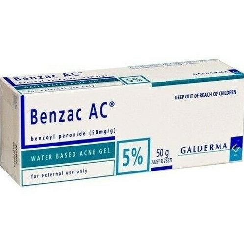 Benzoyl peroxide   5% gel (20g)