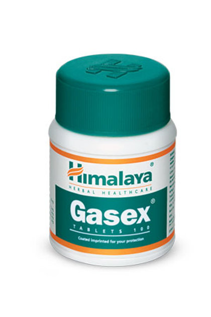 Gasex -100tablets  (Improves digestion. Relieves gaseous distension)