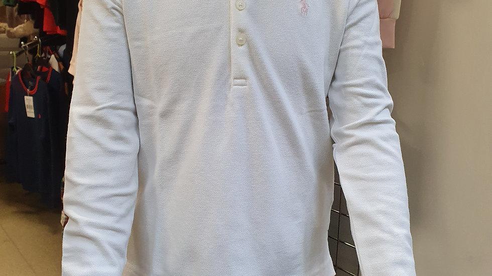 RALPH LAUREN Long Sleeve Classic Polo Age 6 RRP £50