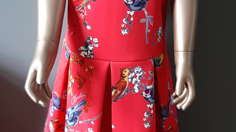 Ted Baker Printed Scuba Prom Dress - RRP £42 Age 14 yrs ONLY