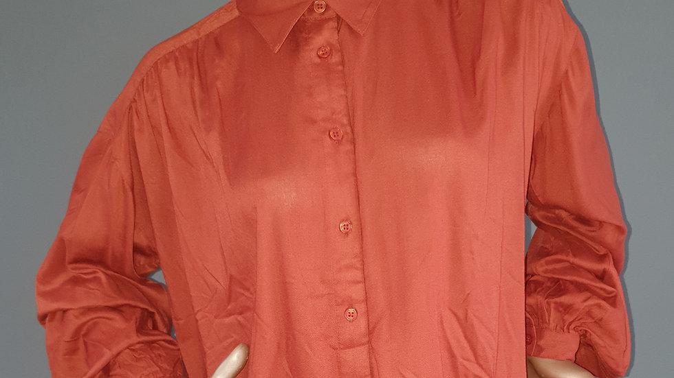 Button Through Blouse Size 14 RRP £30