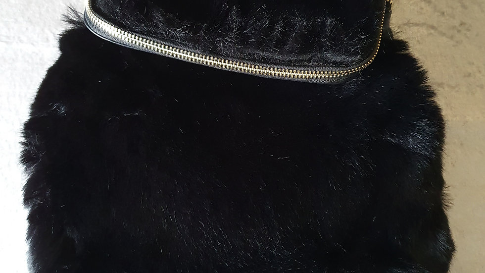 Whistles Leather and Faux Fur Verity Back Pack - RRP £150