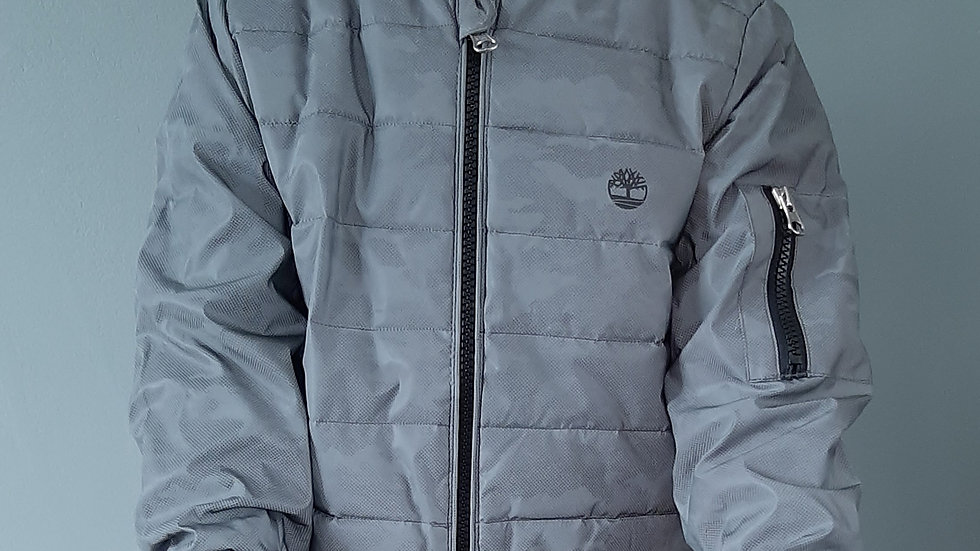 Timberland Boys Reflective Print Jacket - RRP £110 Age 4,6 yrs ONLY