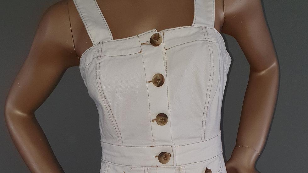 Michelle Keegan Contrast Denim Pencil Skirt Size 10 RRP £58