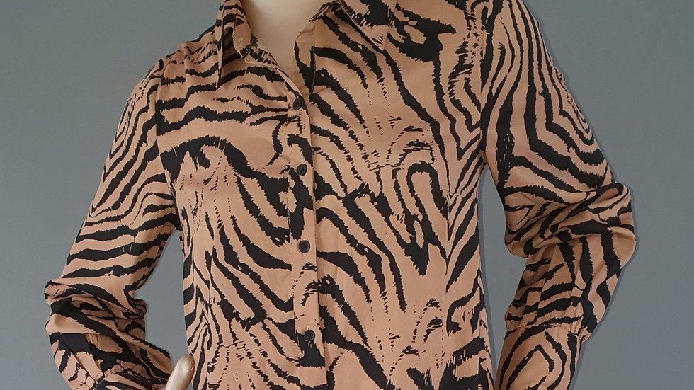 Quiz Tiger Print Dress size 8 RRP £30