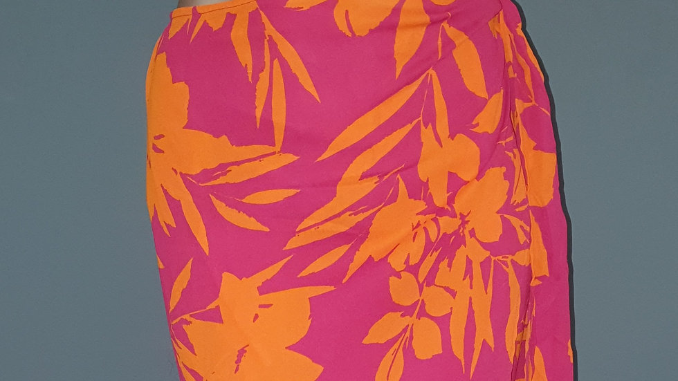 Kate Wright Floral Side Tie Maxi Skirt Size M RRP £44