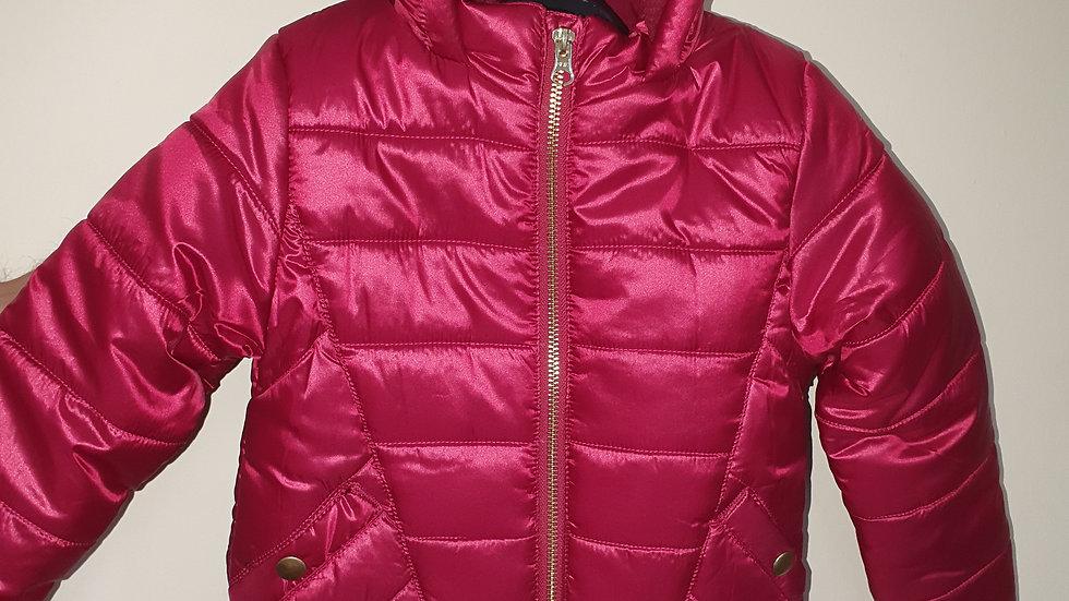 Dunnes fleece lined girls coat