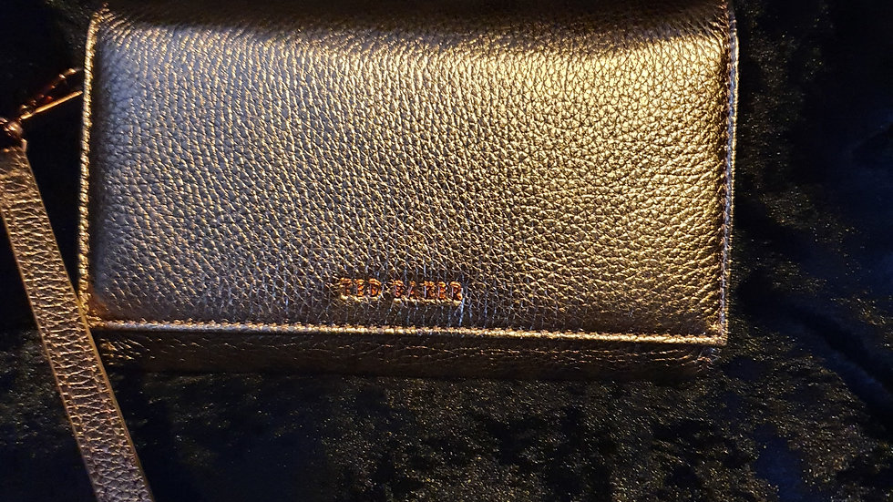 Ted Baker Holli Textured French Purse Rose Gold - RRP £75