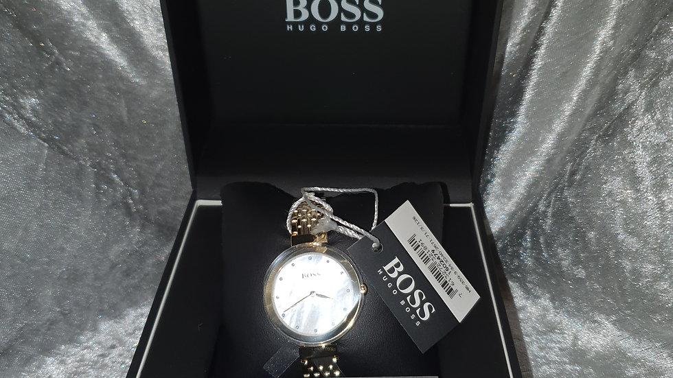Hugo Boss Ladies Celebration White Crystal Set Dial Watch - RRP £249