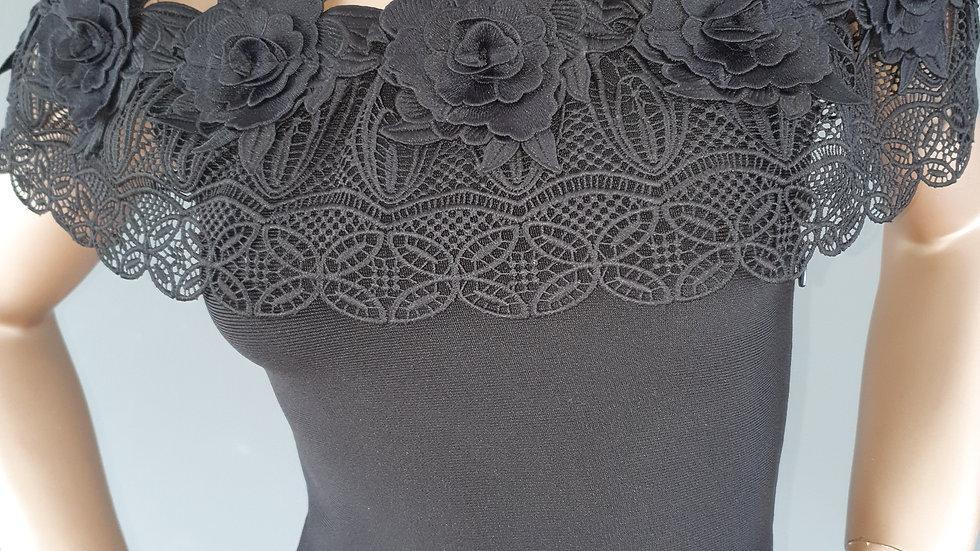 U Collection Forever Unique Bandeau Lace Dress size 10 RRP £145