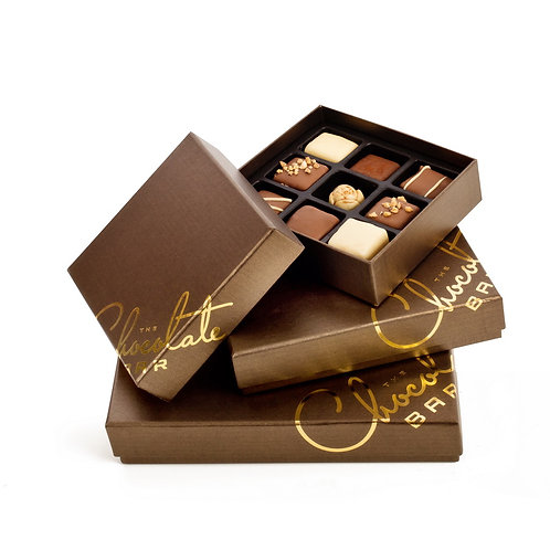 Chocolate Boxes with 9 Inserts