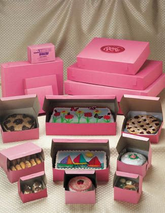Cakes & Chocolate Box Packaging